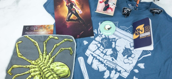 Loot Crate March 2019 Review + Coupons –  COSMIC