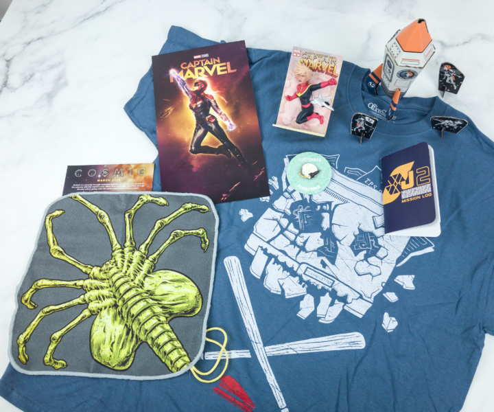 Loot Crate March 2019 Review + Coupons - COSMIC - hello subscription