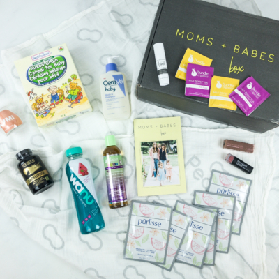 Moms + Babes Spring 2019 Subscription Box Review + Coupon – INFANT BOX
