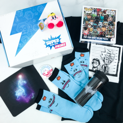 Super Geek Box PRIME Spring 2019 Subscription Box Review + Coupon