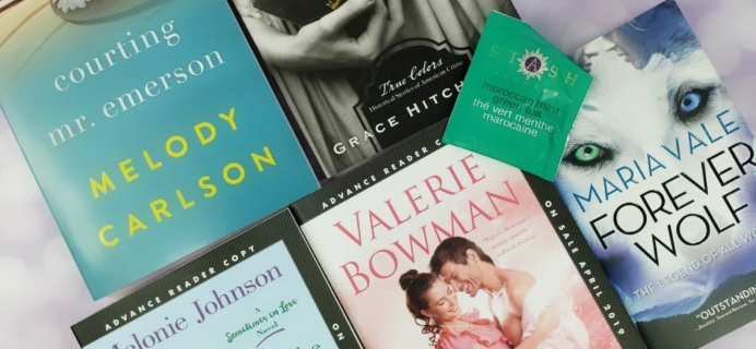 Fresh Fiction Box April 2019 Subscription Box Review + Coupon