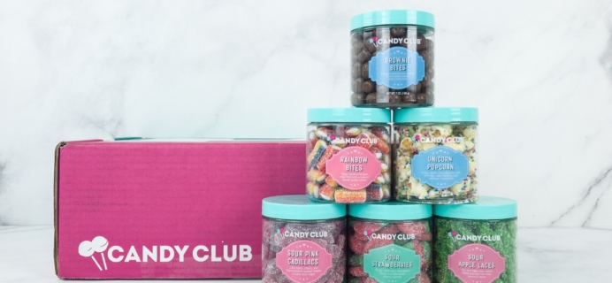 Candy Club April 2019 Subscription Box Review + Coupon
