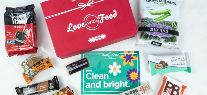 Love With Food April 2019 Tasting Box Review + Coupon!