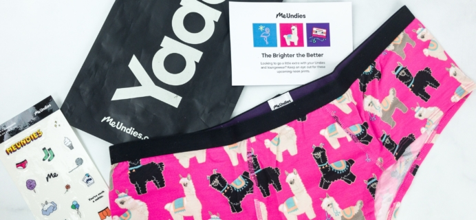 MeUndies April 2019 Subscription Review – Women's