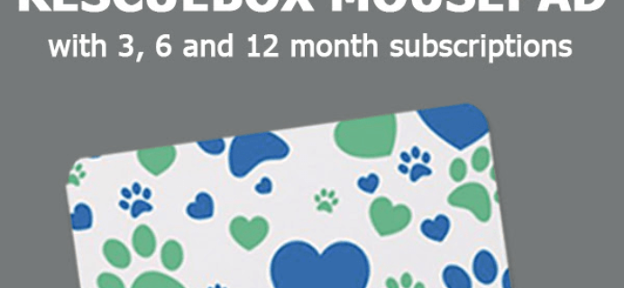 Rescue Box Coupon: Get FREE Mousepad!
