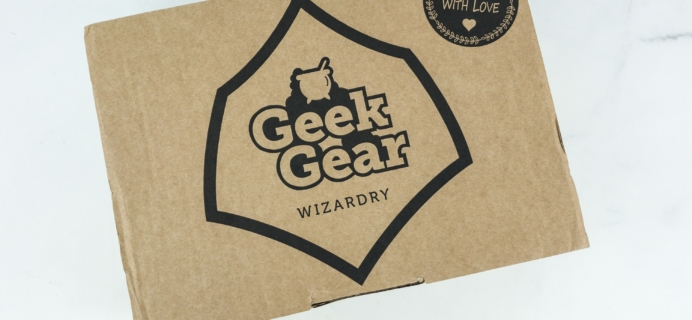 Geek Gear World of Wizardry Wearables March 2019 Subscription Box Review + Coupon