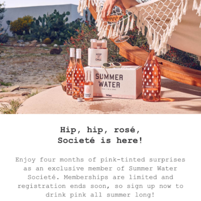 Winc Summer Water 2019 Available Now + Coupon – LAST DAY!