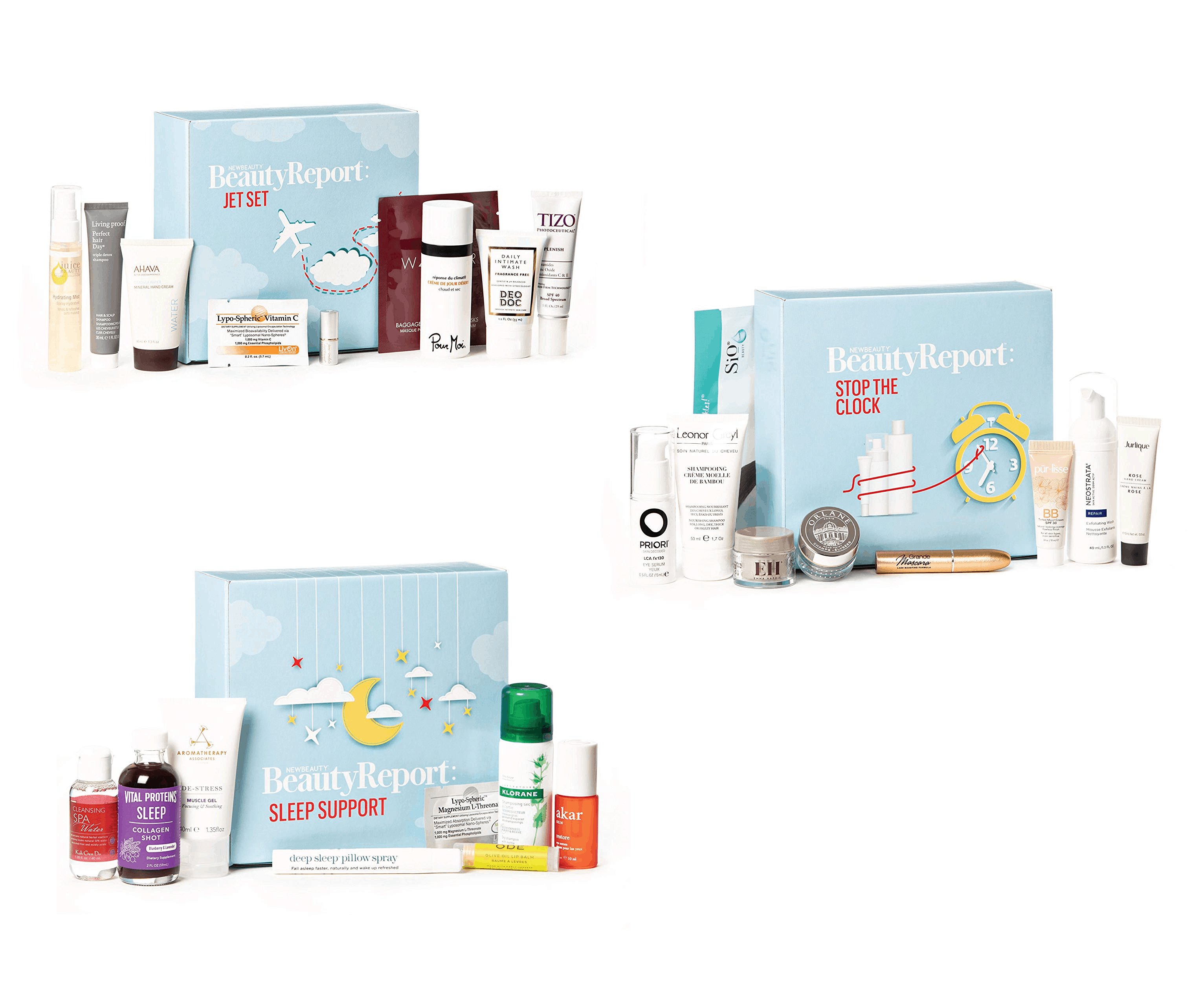 Three NewBeauty BeautyReport Boxes Available Now!