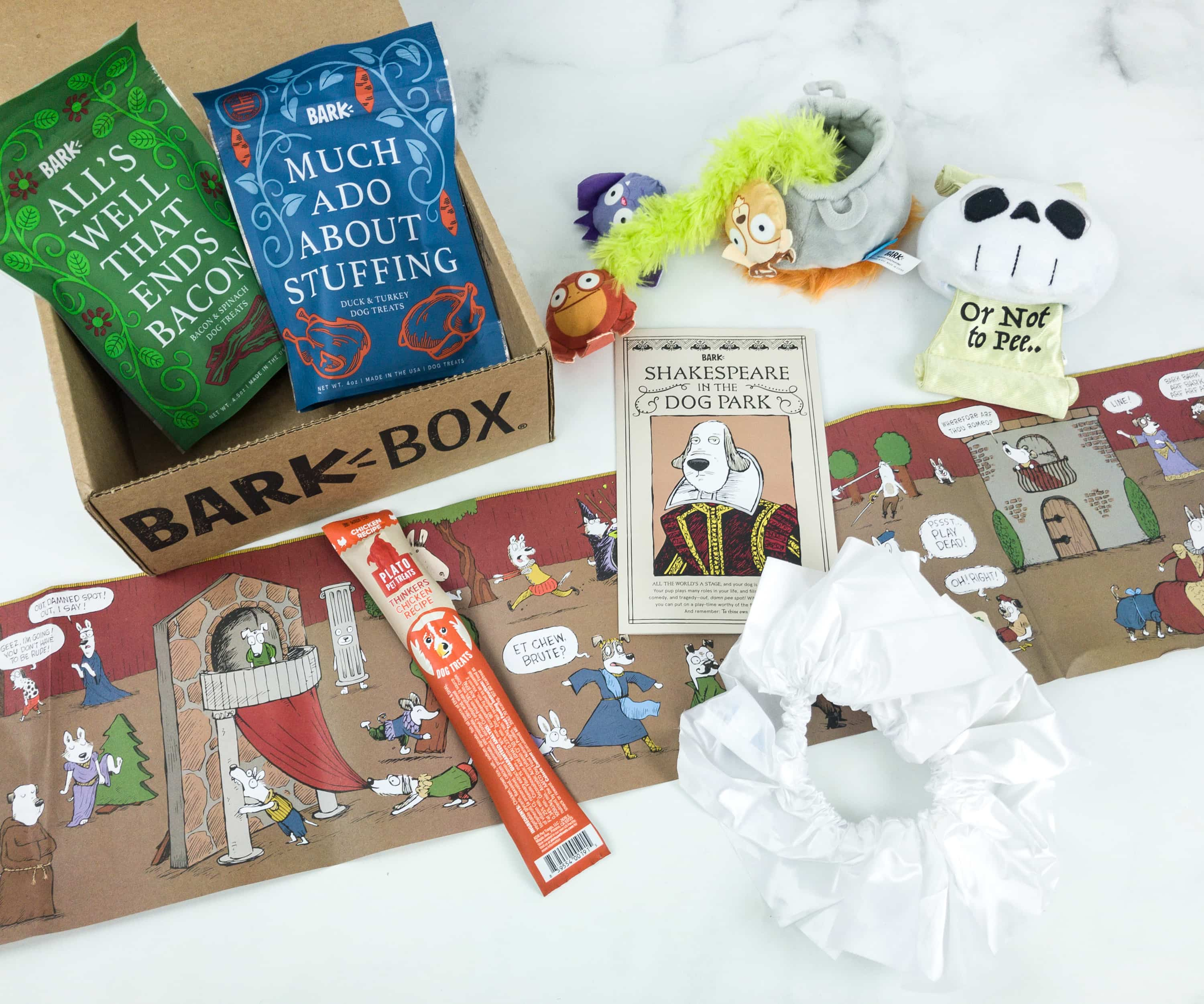 Barkbox April 2019 Subscription Box Review + Coupon