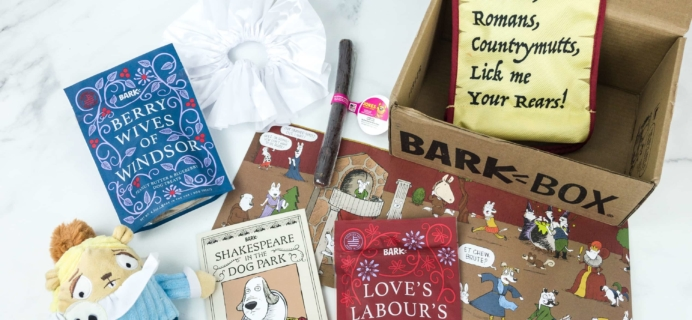 Barkbox April 2019 Subscription Box Review + Coupon – Large Dog