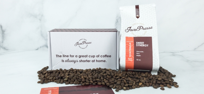 Java Presse Coffee Of The Month Club April 2019 Review + Coupon