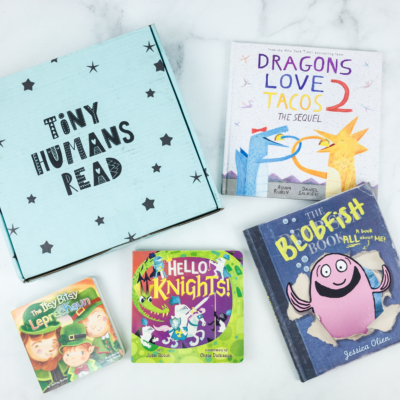 Tiny Humans Read March 2019 Subscription Box Review + Coupon