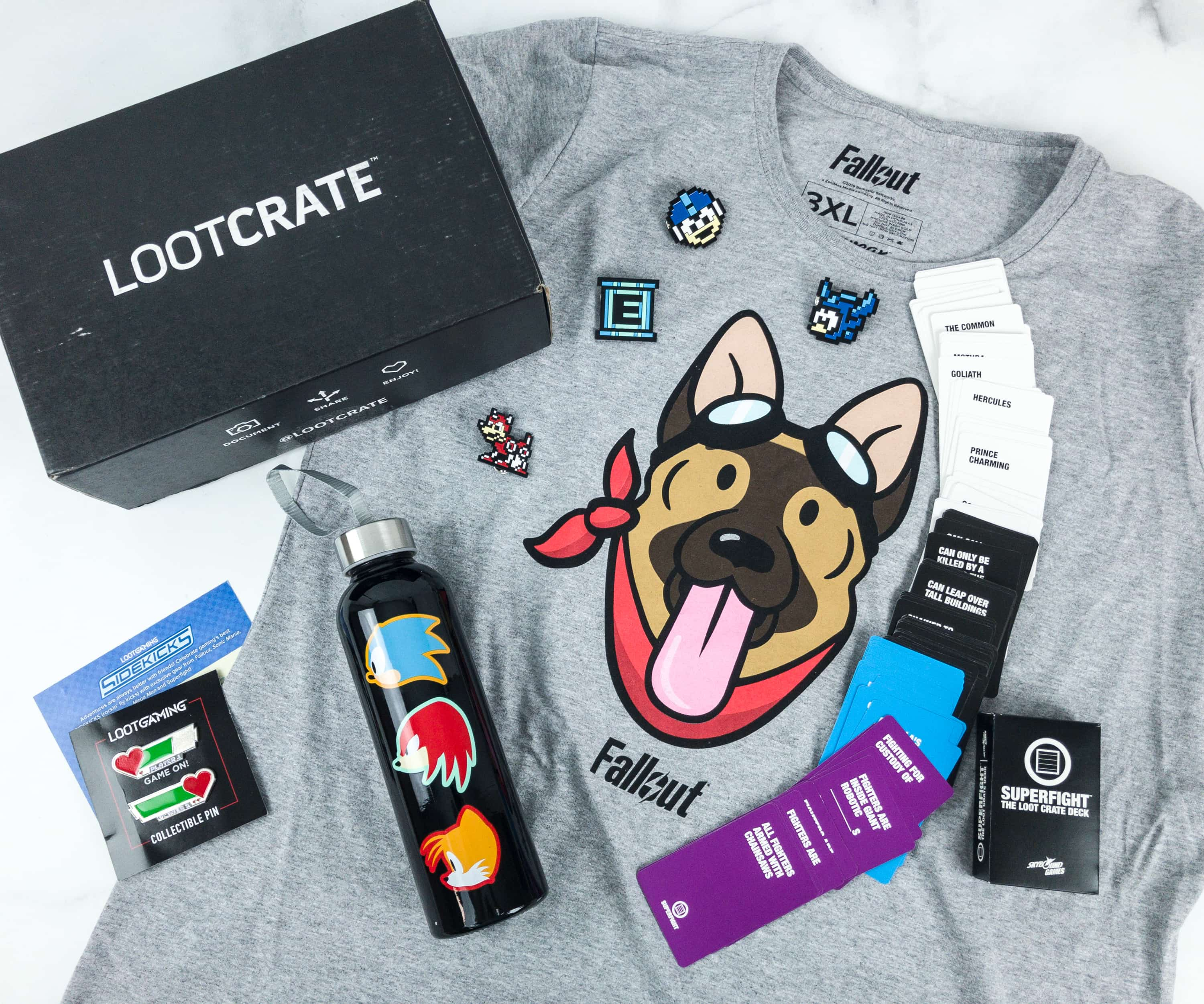 Loot Gaming March 2019 Subscription Box Review & Coupon