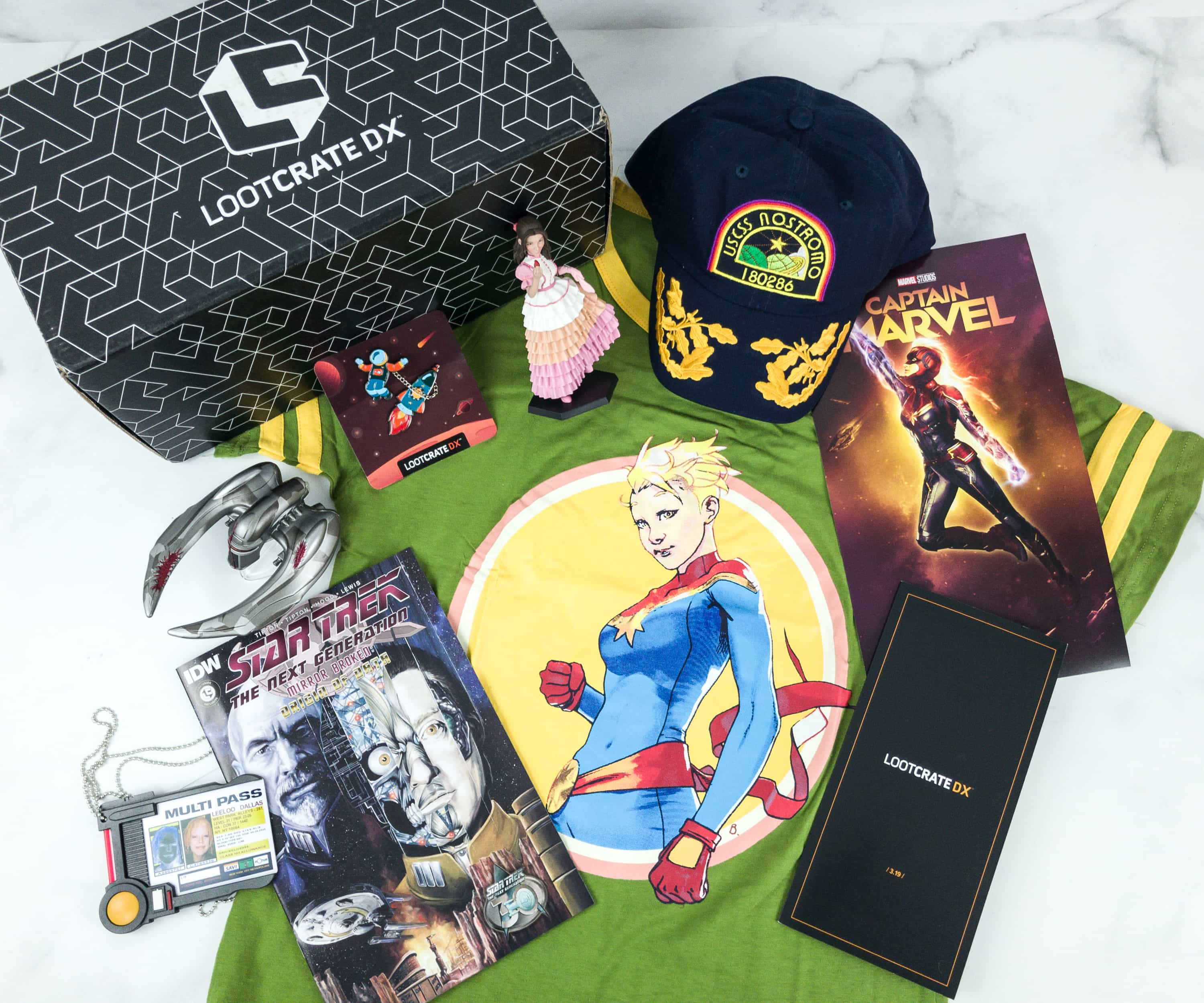 Loot Crate DX March 2019 Subscription Box Review & Coupon
