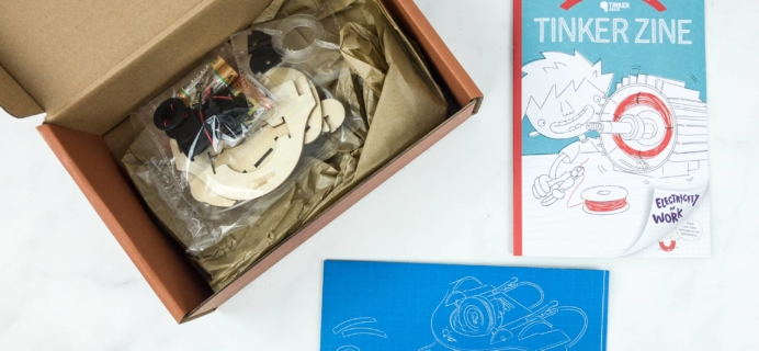 Tinker Crate Review & Coupon – MAKE YOUR OWN MOTOR