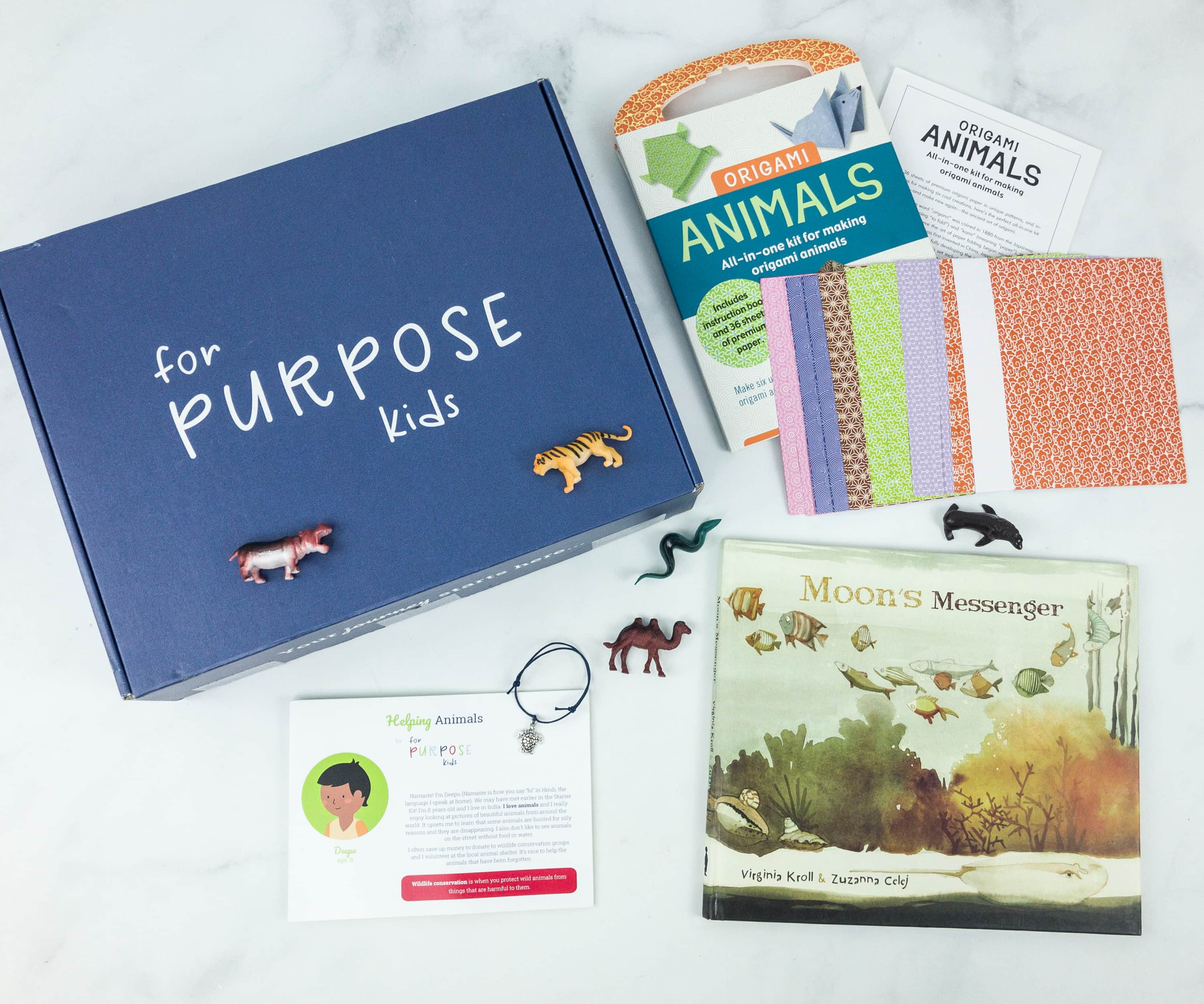 For Purpose Kids Helping Animals Box Review + Coupon
