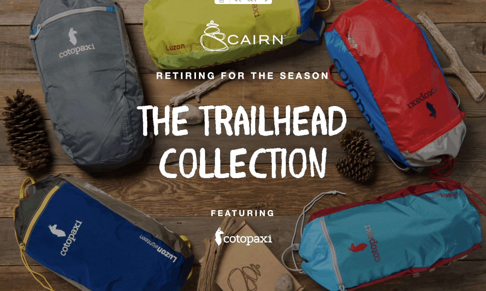 Last Chance to Get The Trailhead Collection As Your First Cairn Box!