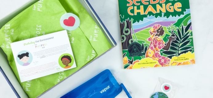 For Purpose Kids Protecting Our Environment Box Review + Coupon