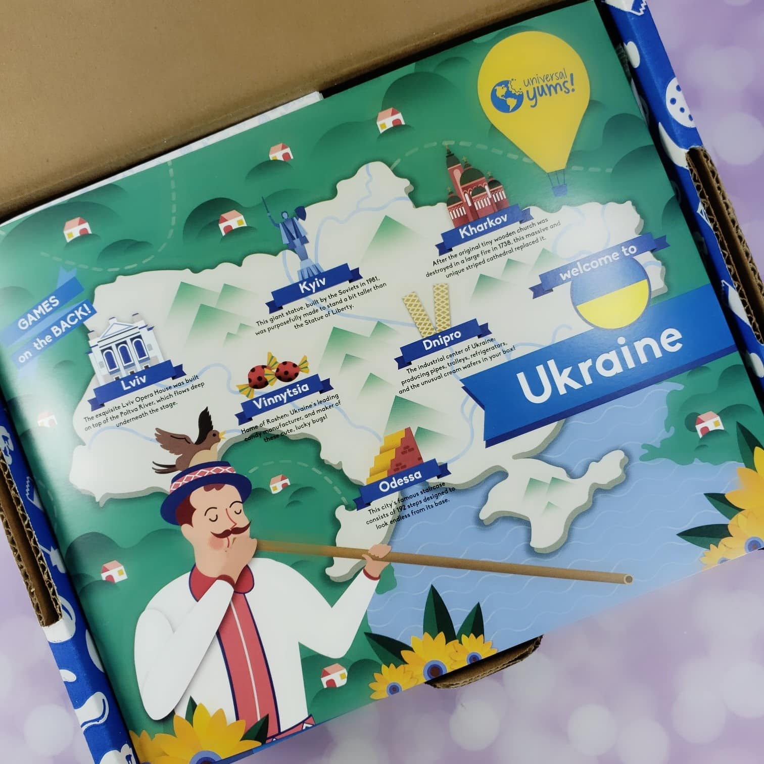 Universal Yums March 2019 Subscription Box Review – Ukraine