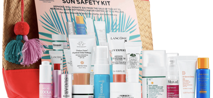 Sephora Sun Safety Kit 2019 Available Now!