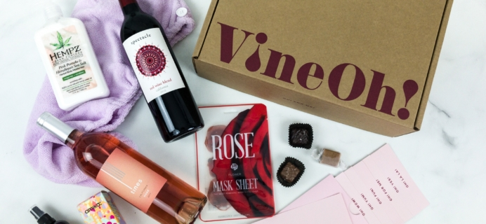 Vine Oh! Spring 2019 Subscription Box Review + Coupon – OH HAPPY DAY BOX