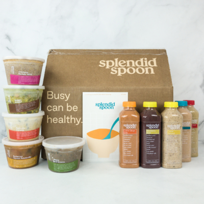 Splendid Spoon Subscription Box Reviews – SOUPS & SMOOTHIES BOX
