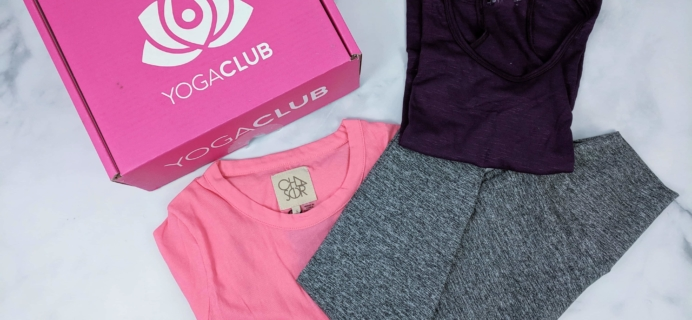 YogaClub Subscription Box Review + Coupon – April 2019