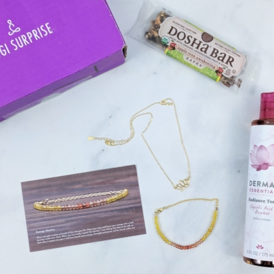 Yogi Surprise Jewelry Box April 2019 Subscription Review + Coupon