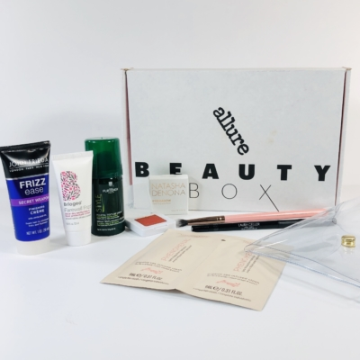 Allure Beauty Box April 2019 Subscription Box Review & Coupon