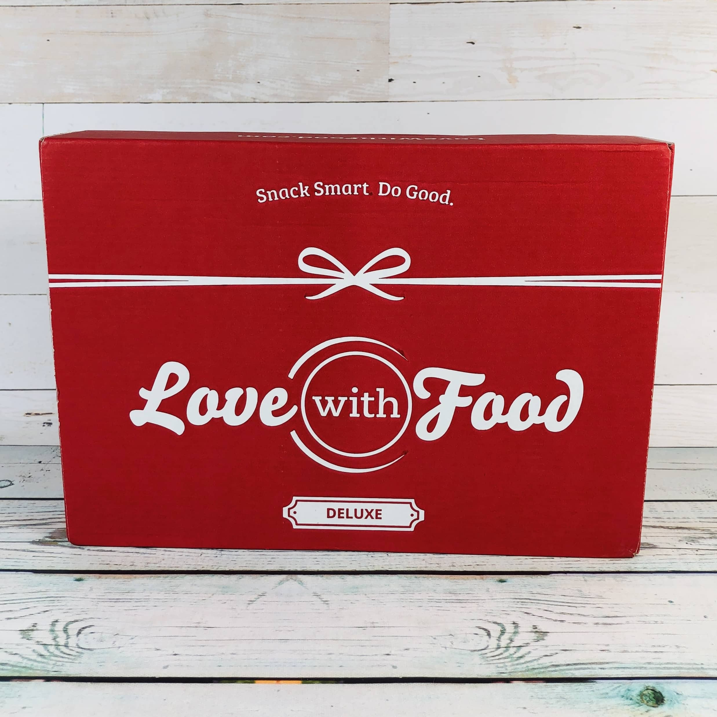 Love With Food April 2019 Deluxe Box Review + Coupon!