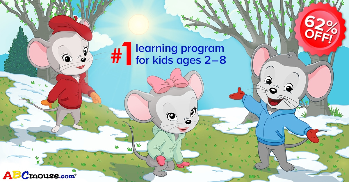ABCmouse Memorial Day Sale: Get 1 Year of ABCmouse for $45 – 62% Off!