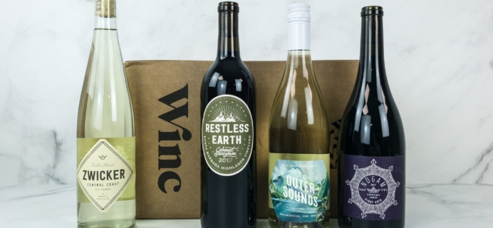 Winc April 2019 Subscription Box Review & Coupon