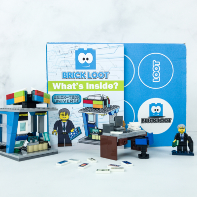 Brick Loot April 2019 Subscription Box Review & Coupon