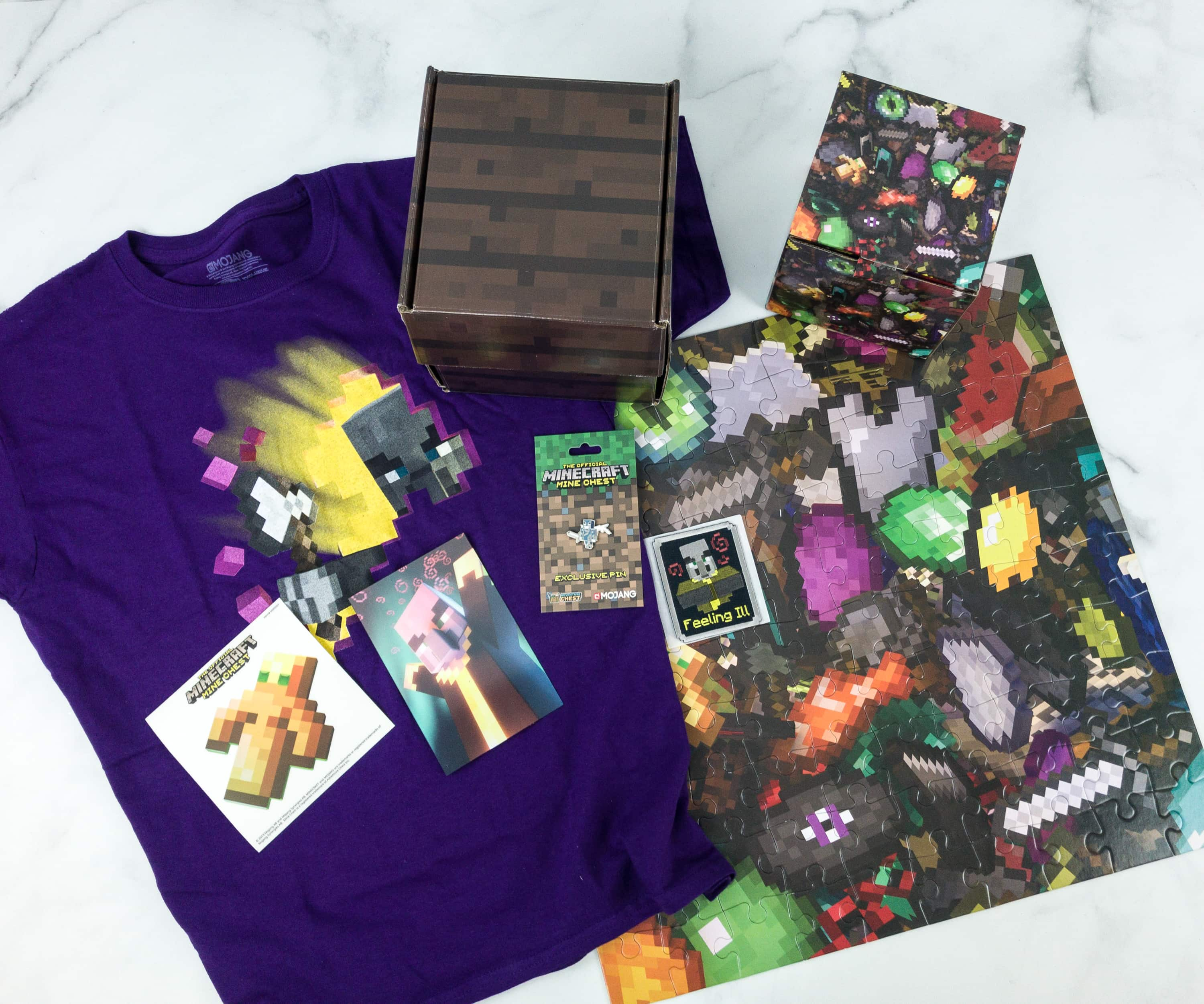 Mine Chest April 2019 Subscription Box Review