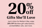 Birchbox Mother's Day Sale: Get 20% Off Gift Subscriptions & More!