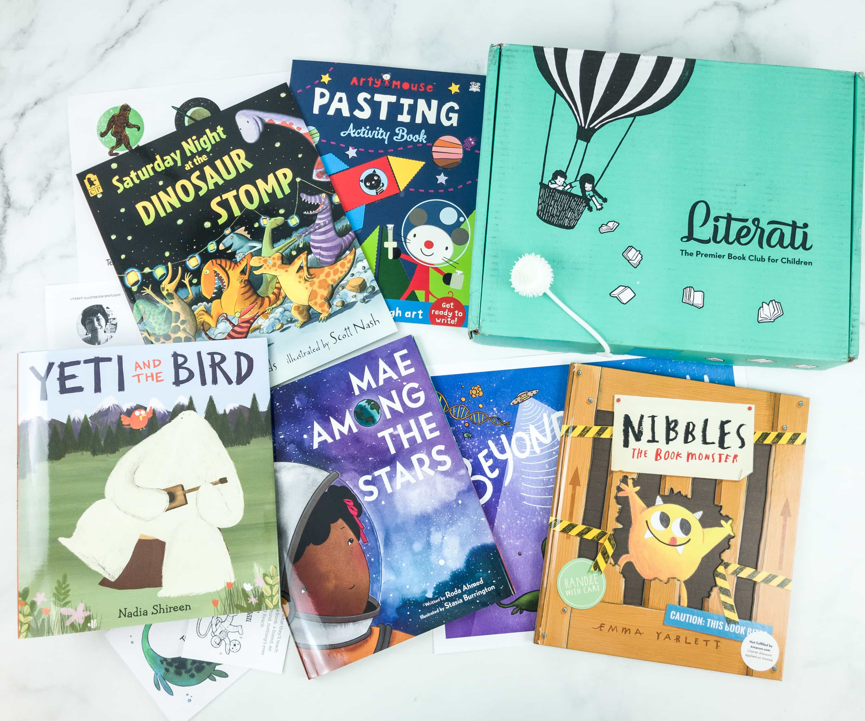 Literati April 2019 Review + Coupon – CLUB SPROUT