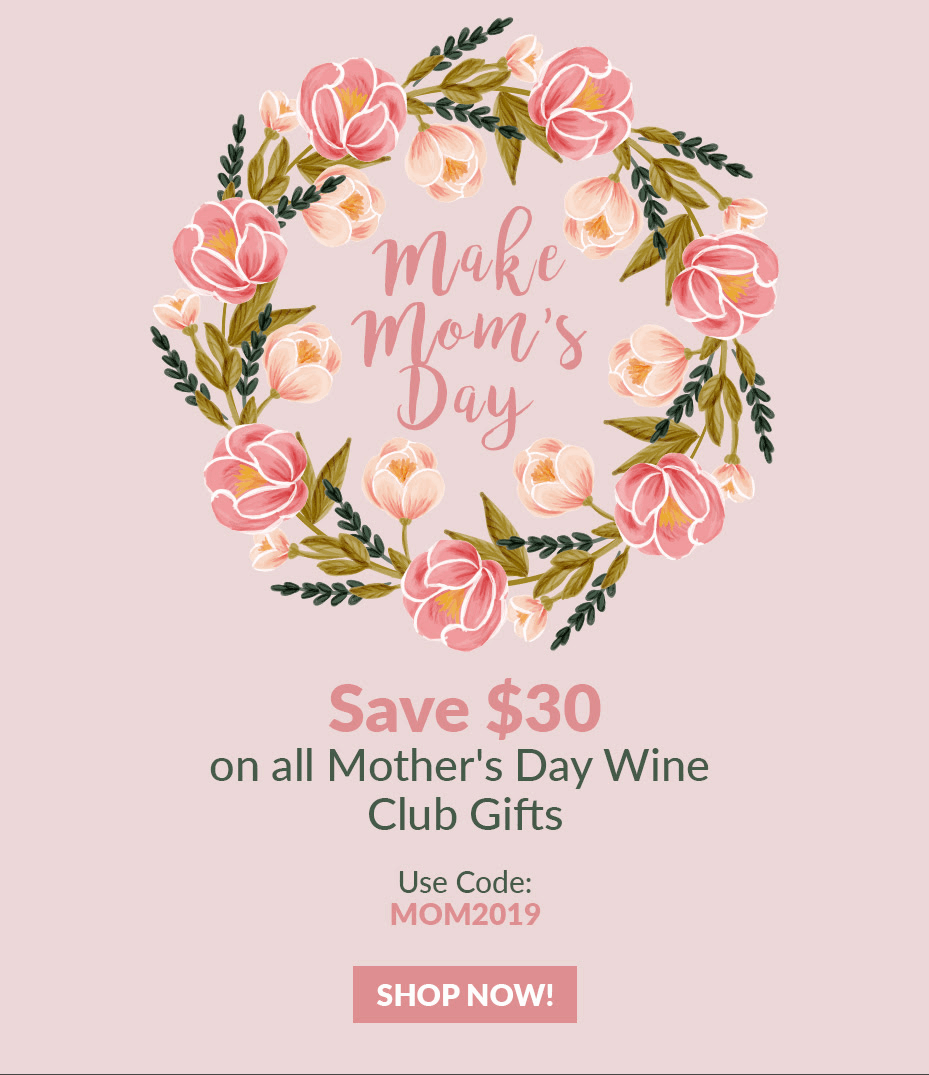 PLONK Wine Club Mother's Day Coupon: Save $30!