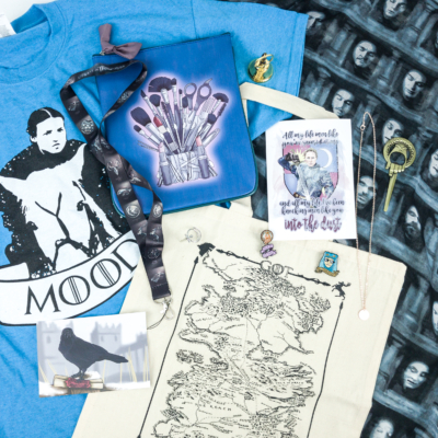Fandom of the Month Club GAME OF THRONES Limited Edition Box Review