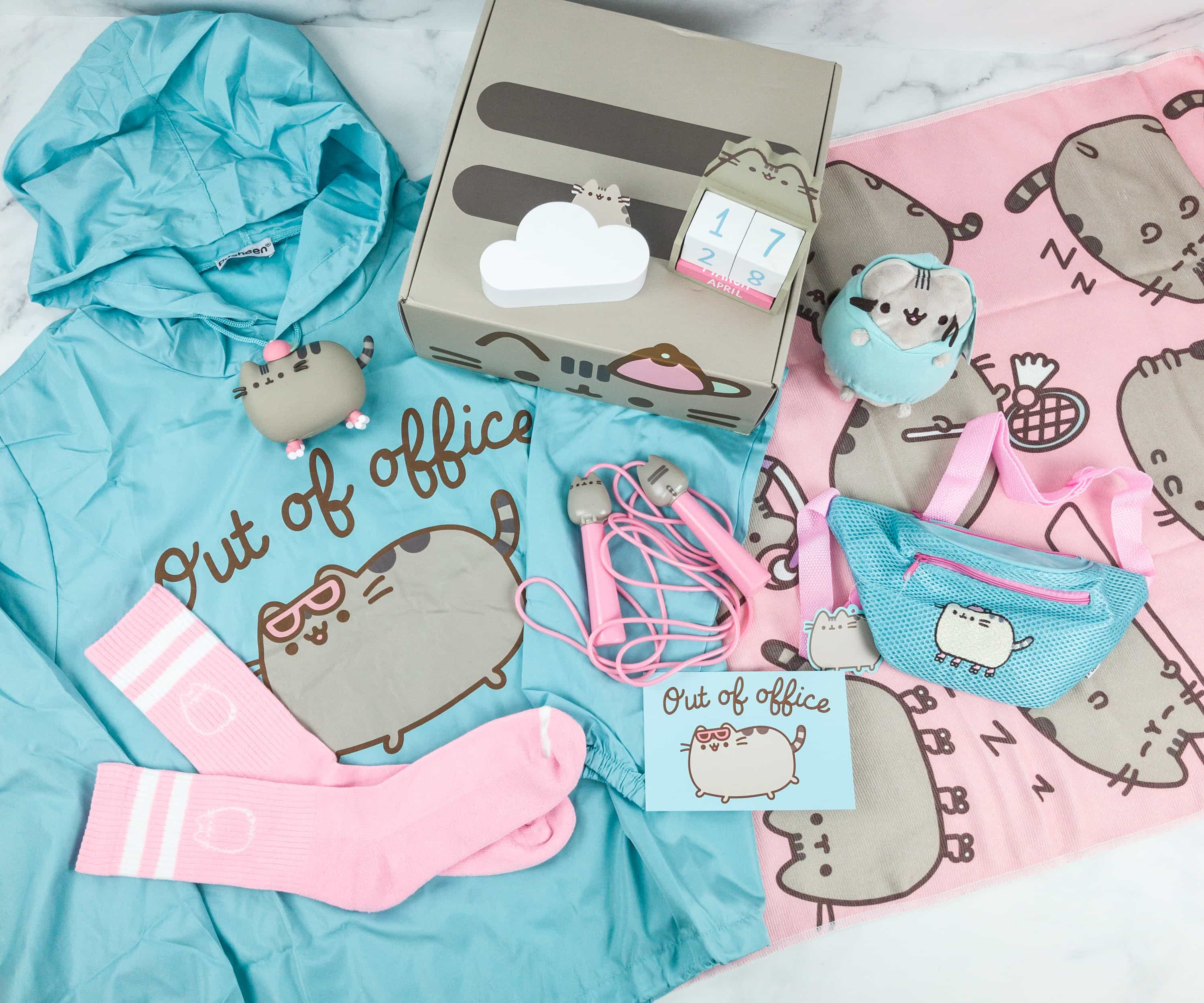 Pusheen Box Spring 2019 Subscription Box Review