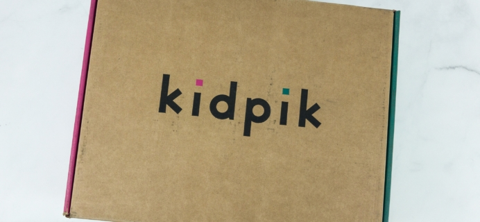 Kidpik Spring 2019 Subscription Box Review + Coupon