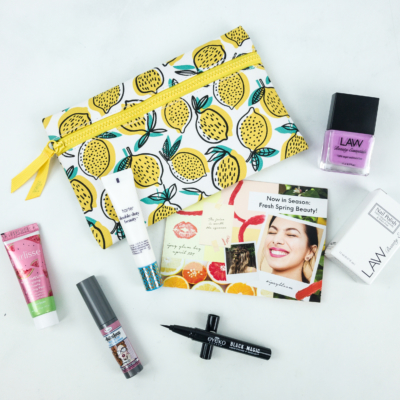 Ipsy April 2019 Review