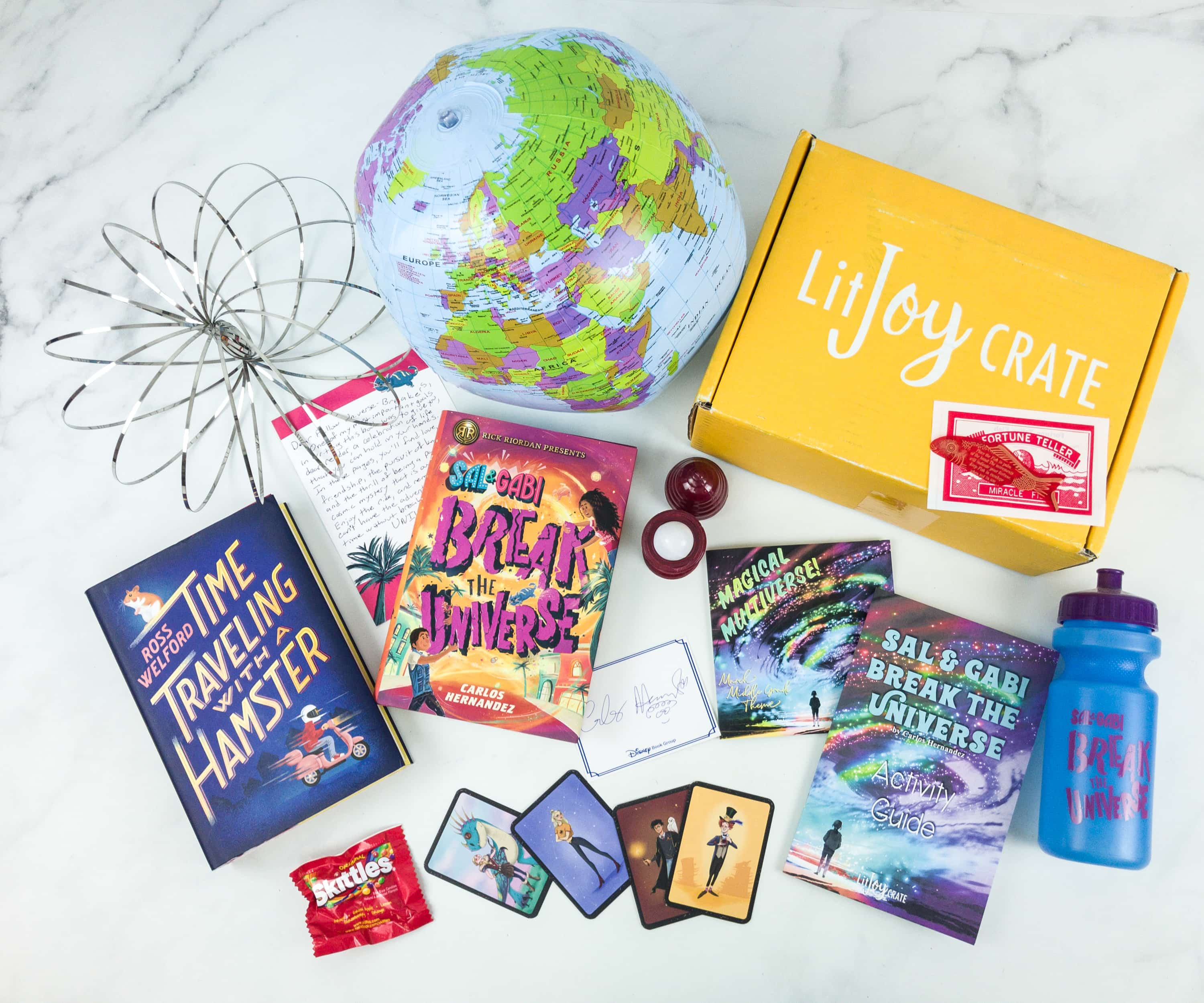 LitJoy Crate Spring 2019 Middle Grade Crate Subscription Box Review & Coupon