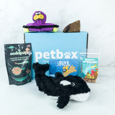 PetBox April 2019 Subscription Review & 50% Off Coupon Code – Large Dog