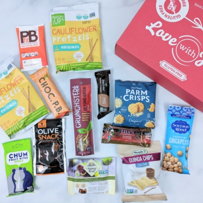 Love With Food Gluten-Free April 2019 Subscription Box Review + Coupon