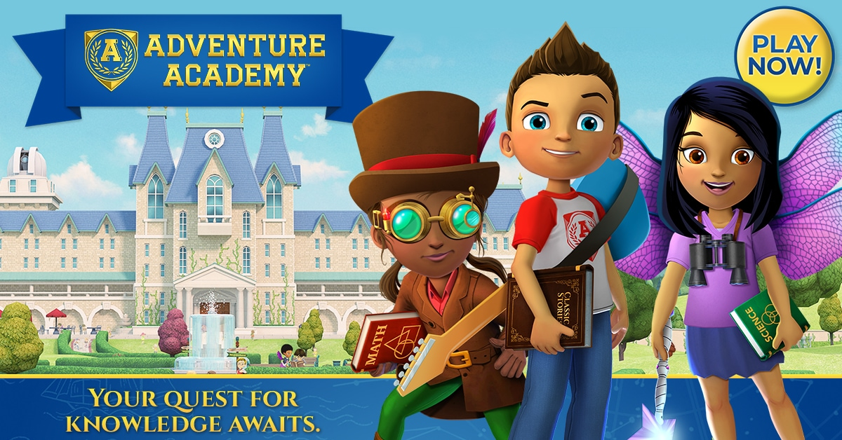 New Subscriptions: Adventure Academy Coming Soon + FREE