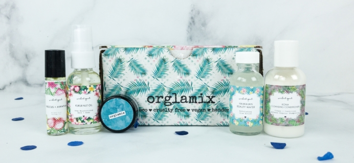 Orglamix April 2019 Subscription Box Review & Coupon