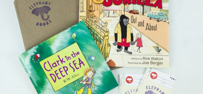 Elephant Books May 2019 Subscription Box Reviews – PICTURE BOOKS