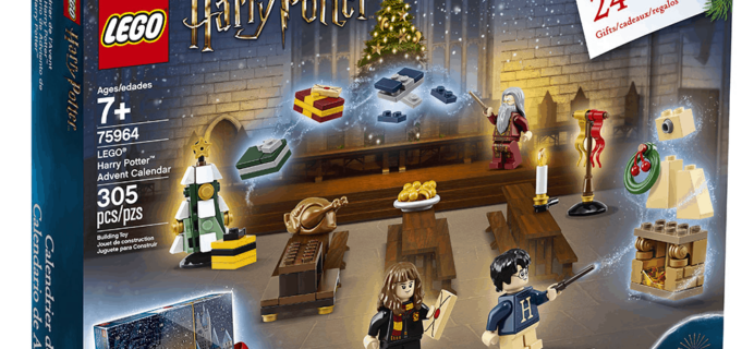 LEGO Harry Potter 2019 Advent Calendars Announced + Spoilers!