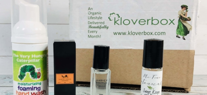 Kloverbox April 2019 Subscription Box Review & Coupon