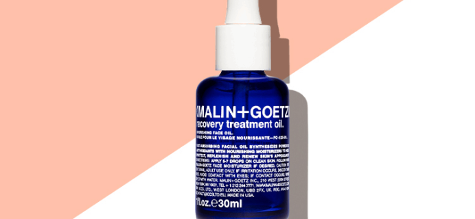 Allure Beauty Box Coupon: FREE Full-Size Malin + Goetz Recovery Treatment Oil with Gift Subscription!